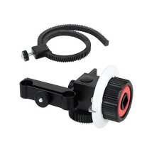 [poledit] VILTROX VX-12 Quick Release Clamp Follow Focus with Gear Ring Belt for DSLR Came/13940601