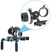 [poledit] Neewer A-B Stop Follow Focus with Quick Release and Gear Ring Belt Mount for DSL/13940628