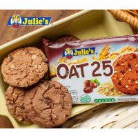 Biskuit Oat-Julie's Oat 25 Biscuits With Hazelnuts and Chocolate Chips