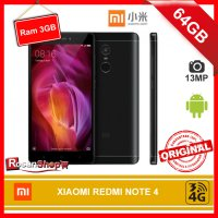 XIAOMI REDMI NOTE 4 Black Matte 64GB RAM 3GB 13Mp Original 100%