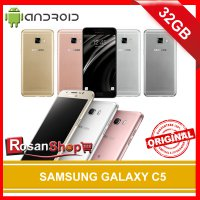 SAMSUNG GALAXY C5 32GB ( GREY , Gold , Silver , Rose Gold ) Original 100% Garansi 1 Tahun