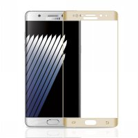 HMC Samsung Galaxy Note 7 - 3D Full Screen Curved Tempered Glass + Lis Ema