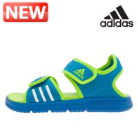Adidas sandals for children / youth slippers Sale Cheap Red 7 Kids Sandals ahdonghwa / MF-M18876