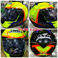 HELM INK CL MAX #3 YELLOW FLUO FULL FACE