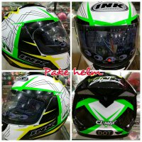 HELM INK CL MAX #3 GREEN FULL FACE