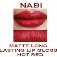 Nabi Long Lasting Lip Gloss Hot Red