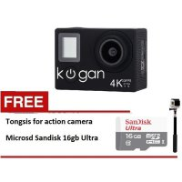 Kogan Action Camera 4K NV UltraHD - 16MP - Paket Lengkap