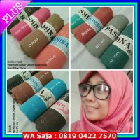 (Sale) Pashmina katun ima denim supernova / cattoon pasmina mirah bagus
