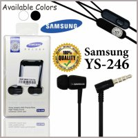 Headset Handsfree Samsung YS-246 Earphones Stereo Extra Bass Universal