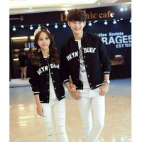Couple Jaket Hey Dude