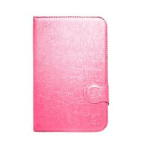 FS Marvel Flip Cover Samsung Tab 2 P3100 P6200 7 Inch - Pink