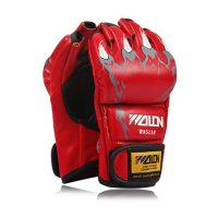WOLON MMA GLOVES Muay Thai Boxing Body Combat Sarung Tinju Gloves