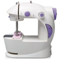 Mini Sewing Machine Double Threads and Two Speed Control - SM-202A - Mesin Jahit Mini VERSI LAMPU