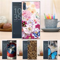 [globalbuy] New Cartoon Fashion Hard Case for Sony Xperia XZ F8332 Flower Crown Tower Patt/3766510