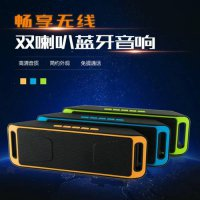 [globalbuy] Outdoor sports Mini Portable Wireless Stereo Bluetooth Speaker with FM TF slot/3083402