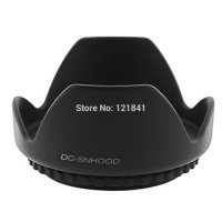 [globalbuy] 62mm 62 mm Camera Lens Hood (Screw Mount) Petal Crown Flower Shape for SLR Can/3077352