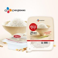 #[CJ] CJ Cooked Rice 300g x 6 large square intervention