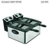 Murah! Oxone Double Deep Fryer Ox-990 ( Resm & Original) |Spf:1040