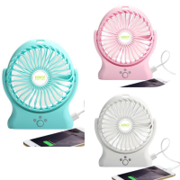 RT-BF06 Robot 2000mAh Power Bank 330 Degree Rotatable USB Mini Fan