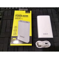 Vivan Power bank Robot RT7100 6600mAh 2 USB Ports Power Bank White