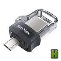 Flashdisk OTG 128GB Sandisk Ultra Dual M3.0 | Flash Disk FD Original