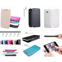 Nillkin Sparkle Leather Case Asus Zenfone 4