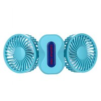 DWO Mini Small Fan Cooling Portable Desktop Dual Air Conditioner USB