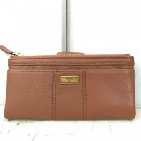 Fossil Ella Clutch Medium Brown - DB532 Coklat