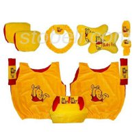 bantal car set 8 in 1 car set 8 in 1 pooh