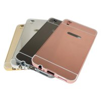 Metal Bumper Slide Mirror Oppo R9 / F1 Plus / Bumper Mirror Slide Back Case – Color