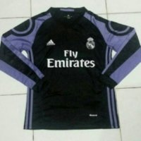 Jersey Longsleeve Real Madrid Third 3rd 2016/2017 Grade ori official