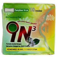 IN3 Pembalut Herbal Pantyliner 1 Paket - Expaired 2018