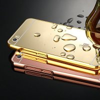 Metal Bumper Slide Mirror Xiaomi Mi 5 / Bumper Mirror Slide Back Case – Color