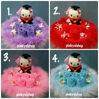Buket Boneka Hello Kitty Wisuda New HW018