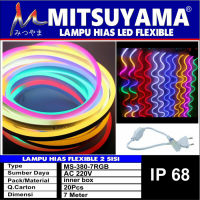 Lampu Hias LED Flexibel 2 Sisi Strip SMD Rope 7 Meter