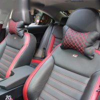 (Interior) Car Set Exclusive - Tempat Tissue CD + Sarung Stir + Bantal Mobil