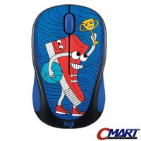 Logitech m238 Doodle Collection- SneakerHead Wireless Mouse 910-005058