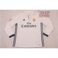 Jersey Real Madrid Home 2016/17 - Lengan Panjang