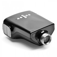 Portable LED Projector 50 ANSI Lumens Multiple Interface with Remote