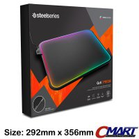 SteelSeries QcK Prism Gaming Mousepad 12 zone RGB Illumination - 63391