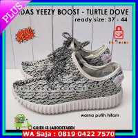 #Sneakers adidas yeezy boost 350 turtle dove import - putih hitam