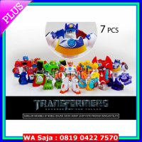 FIGURE LAIN2 7pc Transformers Action figure set -Robot Transformer