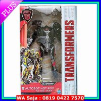 DISKON HOT ROD DELUXE EXCLUSIVE WALMART TRANSFORMERS THE LAST KNIGHT