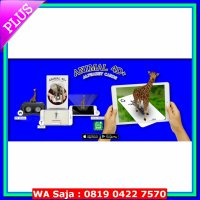 Flash Card 4D / Kartu 4D Flash Card Animal 4D + FOOD CARD / Kartu animasi pendidikan