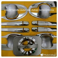 #Eksterior Cover handle Outer dan tutup bensin all new Xenia