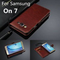 [globalbuy] For Fundas Samsung On7 card holder cover case for Samsung Galaxy On 7 G6000 le/3009707