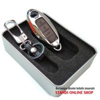 [Promo Gajian] Sarung Kunci Remote Cover Alloy Nissan All New XTrail