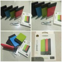 Power bank veger ori 5000 mah powerbank bergaransi