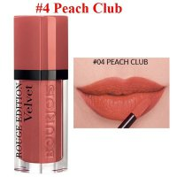BOURJOIS ROUGE EDITION VELVET 04 PEACH CLUB