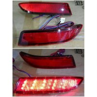 4FLE-123A Rear Bumper LED All Red Lens All New Avanza